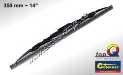 Stěrač kovový TOP Q 350mm GRAFIT 10004