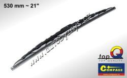 Stěrač kovový TOP Q 530mm GRAFIT 10011