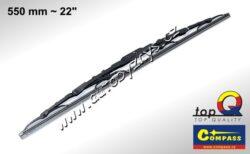 Stěrač kovový TOP Q 550mm GRAFIT 10012