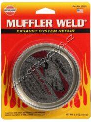 Tmel na opravu výfuku - Muffler Weld Repair & Sealer 175g Versachem-Tmel na opravu výfuku. Přípravek na utěsnění menších, mechanicky či korozí vzniklých trhlin v potrubí, nebo na místech spojů a svárů. Eliminuje rezonující spoje a netěsnosti výfukového systému, odolává vysokým teplotám.  Dóza 184g