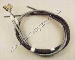 Brzdový lanovod Ford,Mazda-délka kabelu: 1640 délka 1 [mm]: 1451 délka 2 [mm]: 1396