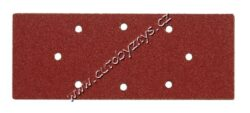 Brusné papíry do vibrační brusky 240x93mm s otvory zrnitost P100 - 5 ks