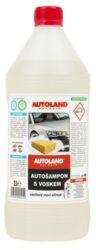 Autošampon s voskem NANO+ 1L-Účinný autošampon s voskem, zesílený mycím účinek. Vyvinuto na bázi aniontových a neiontových mycích prostředků nejnovější generace. Složení zajišťuje efektivní mytí karoserií i s malým množstvím autošamponu. Vosk v šamponu obnovuje lesk i barvu a lak poté získává zbrusu nový vzhled. Autošampón (neředěný vodou) může být použit i k odstranění staré, suché nečistoty jako ptačí trus, hmyz apod. Všechny složky v šamponu jsou biologicky odbouratelné.