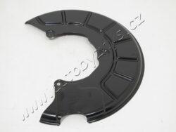 Plech krycí přední kotoučové brzdy levý Octavia2/Superb2/Yeti orig. 1K0615311F-PRO KOTOUČ 280x22 , 288x25 , 312x25