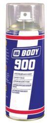 Ochrana dutin a karoserie - vosk BODY 900 WAX - sprej 400 ml s hadičkou-Izolační hmota na bázi vosku s vysokým antikorozním účinkem. Použvá se do všech dutin karoserie jako jsou prahy, sloupky, dveře atd. Má vysokou vzlínavost. Odolává teplotám od -30oC do +60oC.