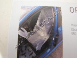 Pracovní potah Optiset BODY 5ks v balení -sedadlo,volant,podlaha interiéru