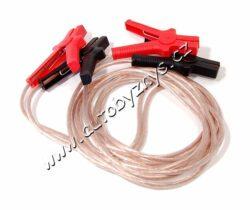 Kabely startovací 600A 4m Cu 100% měď 01116