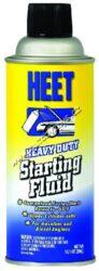 Startovací sprej  Heet Starting Fluid 286ml Gold Eagle-STARTOVACÍ SPRAY -  Špičkový přípravek pro nastartování motorů dopravních prostředků a jiné techniky při velmi nízkých teplotách (až do -30°C). Vhodný pro diesel i benzínové agregáty. Šetří startér a autobaterii, nepoškozuje katalyzátor. Obsahuje mazné částice a inhibitory rzi.