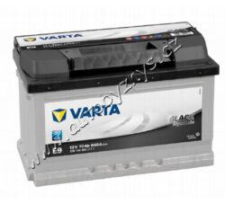 Autobaterie 12V/70Ah 640A VARTA Black dynamic-TYP BATERIE: Bezúdržbová baterie   TECHNICÉ SPECIFIKACE  VARTA 5701440643122 napeti [V]: 12 kapacita baterie v Ah: 70 startovací proud, test za studena dle EN (v A): 640 razeni polu: 0 druh zásuvky: 1 způsob upevnění, spodní provedení: B13 délka (v mm): 278 Sirka v mm: 175 vyska ( v mm ): 175
