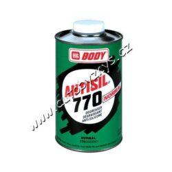 Odmašťovač BODY Antisil 770 - 1L-Speciální odmašťovač pro odstranění nečistot a mastnot z jakýchkoliv povrchů před jejich lakováním. Po odmaštění vždy nechte cca 5 min. odtěkat z čištěného povrchu.