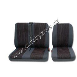 Potahy sedadel PROFI 2 modré (2+1) UNIVERZÁLNÍ
