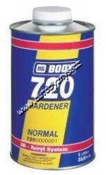 Tužidlo BODY 720 HARDENER NORMAL - plničů,bezb.laků a akrylátových barev - 2,5L-Určeno k tužení základových plničů BODYFILL 300,305,307,310,360,akrylátových barev a bezbarvých vrchních laků.