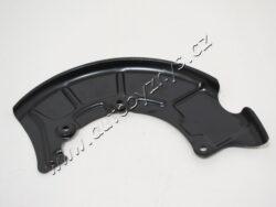Plech krycí přední kotoučové brzdy pravý Octavia orig.; 1J0615312A-pro kotoučovou brzdu 256x22,280x22,288x25