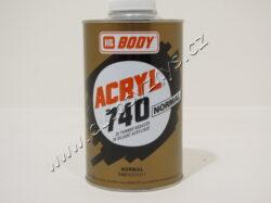 Ředidlo BODY 740 Acryl Thinner - akrylátové - 1 L