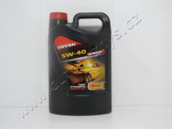 Olej motorový 5W-40 API SM/CF TRYSK SPEED 4L PARAMO