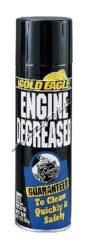 Odmašťovací a čístící sprej na motory Engine Degreaser 510ml Gold Eagle-Odmašťovací+čistící spray na motor. Odmašťovací a čistící prostředek na motory dopravních prostředků. Praktický, rychlý a bezpečný spray vystačí na 3-4 vyčištění motoru.