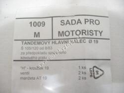 Sada gumiček 1009 M ŠKODA ; 199010091