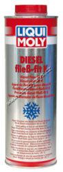 Přísada proti tuhnutí nafty K 5L LIQUI MOLY-Přísada zabraňuje tvorbě krystalů parafínu v naftě, které za nízkých teplot způsobují zhuštění nafty a tím ucpávají palivové vedení a filtry. Prostředek udržuje naftu v tekutém stavu až do teplot -31 °C. Tím zlepšuje průchodnost nafty palivovými sítky a filtry, a přispívá tak k provozní spolehlivosti dieselového motoru. Použití: Pro všechny druhy nafty pro spolehlivost v zimních podmínkách. Přidat do nádrže před tankováním. Přísada je jen tehdy účinná, když se přidá před ztuhnutím nafty (okolo 0 °C). Dávkování je 1:1000.