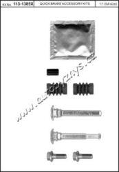 Brzdové příslušenství třmenu QuickBrake-průměr v mm: 10 montovací strana: přední osa montovací strana: zadní náprava brzdovy system: Bosch