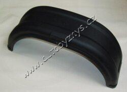 """Blatník vozíku - plast 13""""/200 mm - černý AL-KO"""