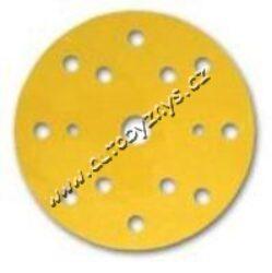 Brusný kotouček 8+6+1 děr P120/150 mm - na excentrickou brusku