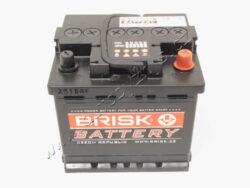 Autobaterie 12V/40Ah 330A Brisk