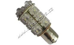 24V Ba15s LED 20Flux bílá