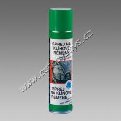 Sprej na klínové řemeny 400ml TECTANE-Pro všechny hnané klínové, kulaté a ploché řemeny z tkaniny, PVC, kůže a gumy, jež jsou vystaveny vlhkému prostředí a dlouhodobým provozům. Zvyšuje přilnavost a tažnou sílu, zabezpečuje odolnost proti vlhku a stříkající vodě. Zamezuje prokluzování a hvízdání klínových řemenů.