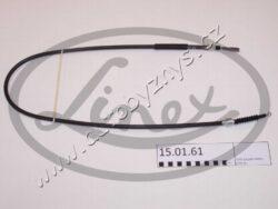 Brzdový lanovod Ford Galaxy/Seat Alhambre/VW Sharan 7M0609701B-élka 1/délka 2: 1290/1127 druh brzd: kotoučová brzda