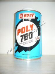 Ředidlo stříkacích plničů BODY POLY 780 polyester - 1L-Ředidlo do polyesterových plničů BODY 260,275.  Používá se také na čištění nářadí.