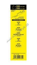 Stěrače FLAT SET (BONE) 550+550mm 10760(13916)