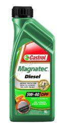 Olej motorový 5W-40 Magnatec DIESEL B4 DPF CASTROL 1L VW 502 00/505 00/505 01