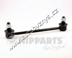 Tyč stabilizátoru Hyundai,Kia NIPPARTS-délka (v mm): 220 vnejsi zavit (mm): M12 x 1,25 průměr vlákna [mm]: 21 Materiál: ocel Tyc/vzpera: spojovací tyč montovací strana: zadni naprava - oboustranne