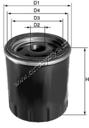 Filtr olejový Peugeot,Citroen KAMOKA(DO209)