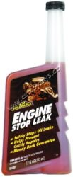 Přísada pro utěsnění motoru - Engine Stop Leak 355ml Gold Eagle-Přísada pro utěsnění motoru. Tekutá přísada zabraňující prosakování motorového oleje netěsnostmi. Regeneruje rozeschlá a zestárlá těsnění, utěsňuje bez vytváření pevných částeček, které mohou ucpat filtr, hadičky atd.