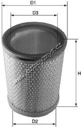 Filtr vzduchový Citröen AX/BX/Berlingo/Saxo/Xara/ZX/C15(MA440)