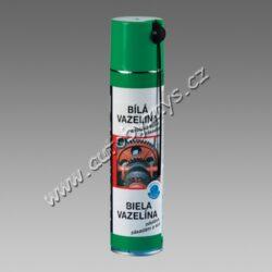 Bílá vazelína- mazací tuk ve spreji 400ml TECTANE-Pro kvalitní mazání mechanických pohonů, jako jsou ozubené převody, pákové mechanismy, řetězové pohony, elektrické spínače, panty, zámky, ložiska. Chrání proti korozi a oxidaci. Snižuje tření, zvyšuje kluznost. Vhodná pro konzervaci el. kontaktů baterií, mazání pantů, zámků, převodů apod.
