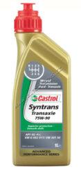 Olej převodový 75W-90 SYNTRANS TRANSAXLE API-4+ CASTROL 1L-Castrol Syntrans Transaxle 75W-90 je syntetický převodový olej s vylepšenými vysokotlakými přísadami (EP) v porovnání s konvenčními převodovými oleji GL-4. Zároveň zabezpečuje výbornou kompatibilitu se synchrony, je schválen podle normy VW 501 50 a je vhodný pro použití v manuálních převodovkách a nápravách, kde výrobce požaduje specifikaci oleje API GL-4.  Splňuje specifikace: SAE 75W-90 API GL-4+ VW 501 50