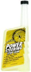 Těsnící přísada do posilovače řízení Power Steering Stop Leak 355ml Gold Eagle-Těsnící přísada do posilovače řízení. Prvotřídní speciální těsnící přísada do posilovače řízení. Může se bezpečně přidávat ke všem původním kapalinám v posilovači. Obnovuje měkkost a vláčnost těsnění a tím brání úniku kapaliny, zpomaluje opotřebení a chrání proti zadírání a prokluzování posilovače.