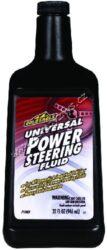 Kapalina do posilovače řízení - Universal Power Steering Fluid 946ml Gold Egle-Univerzální kapalina do posilovače řízení. Prvotřídní univerzální kapalina do posilovače řízení, splňující přísné požadavky výrobců automobilů. Dá se přidávat ke všem původním náplním, nenahrazuje však kapaliny a přísady do převodovek (SS12, DX88 aj.)! Chrání posilovač proti oxidaci, korozi a ukládání nečistot. Udržuje těsnění pružná a těsná a tím zabraňuje úniku kapaliny. Zpomaluje opotřebení, eliminuje hlučnost, umožňuje jemnější a klidnější výkon.