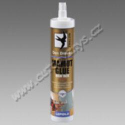 Lepidlo Mamut glue High tack 290ml bílý kartuše DEN BRAVEN-MAMUT GLUE (High tack) (04.40) MAMUT GLUE (High tack) MAMUT GLUE (High tack) MAMUT GLUE (High tack) MAMUT GLUE (High tack)  Pro mimořádně odolné lepené spoje již s maximální počáteční pevností. Přilepí i těžké předměty mamutí silou k podkladu, bez nutné fixace lepeného spoje. Pevnost v tahu po vytvrzení až 22 kg/cm2. Nahrazuje hřebíky, šrouby a nýty. Jedná se o speciální modifikaci MS polymerů, vytvářející po vytvrzení přetíratelný vysokopevnostní a elastický spoj. Není agresívní k podkladům, je ideální pro lepení zrcadel.  Další použití: Kdekoliv ve stavebním a strojírenském průmyslu nebo v domácnosti či na zahradě. Lepení vodotěsných spojů ve strojním a automobilovém průmyslu, konstrukčních dílů automobilů, autobusů, karavanů, osobních vagónů - (pohlcuje vibrace). Lepení nerezové oceli, hliníku, mědi, olova, skla, polykarbonátů, PS, PUR, PVC a některých druhů plastů. Lepení konstrukčních vodotěsných spojů ve stavebním průmyslu, lepení betonu, keramických dlaždic, smaltu, zrcadel, dřeva, zdiva, sádrokartonu, desek CETRIS tvořících výplň zábradlí balkónů – certifikováno, apod.