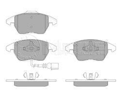 Destičky brzdové přední Octavia2 pro DB 288x25,312x25 MEYLE 5K0698151