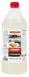 Autošampón NANO+ 1L AUTOLAND-Autošampon vyvinutý na bázi aniontových a neiontových mycích prostředků nejnovější generace. Použitá receptura zaručuje účinné mytí automobilových karoserii již při minimální dávce šampónu. Dokonale připravuje karoserii pro další ošetření s použitím všeho druhů vosků a autopolitur na karoserie značky. Pro odstranění výjimečně silných nečistot (např. ptačí výkaly, stopy hmyzu, atp.) aplikujte šampon místně, bez ředění. Ekologický - všechny složky obsažené v autošamponu podléhají biodegradaci. Výrobek neobsahuje žádná barviva.
