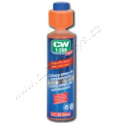 Dr.O.K.Wack CW 1:200 Super čistící směs do ostřikovačů 287,5ml-Odstraňuje matné a mastné povlaky s nejvyšší účinností a je optimálním řešením pro šetrného řidiče, který umí ocenit kvalitu. Vydatnost koncentrátu je neporazitelná. V žádném případě se nejedná pouze o sezónní produkt, ale jedná se o celoroční záležitost pro ty, kteří ocení kvalitu. Může míchat s jakoukoli nemrznoucí směsí do ostřikovačů, čímž se Váš komfort bezpečného a bezproblémového vidění, stává již zmíněnou celoroční záležitostí. Nemusíte investovat stovky či tisíce korun a přesto si můžete vyzkoušet prémiovou řadu společnosti Dr.O.K.Wack CW 1:100.   Veškeré aktivity firmy Dr.O.K.Wack, která je na trhu již od roku 1975,  se řídí zásadním pravidlem, přinášet na trh výhradně nová řešení problému nebo výrazně zlepšovat stávající výrobky. Tuto filozofii si Dr.O.K.Wack vzal k srdci a díky tomu tak vznikají inovativní koncepty a výrobky. Do dnešního dne Dr.O.K.Wack vypracoval přes čtyřicet patentů. Kvalita a promyšlenost výrobků byla prokázána v četných nezávislých testech.  Vlastnosti : Super koncentrace je určena pro 57,5 litrů čistící směsi (cena 1 litru je v tomto poměru 3,27 Kč) Prodlužuje životnost stěračů Pro letní provoz není nutné používat destilovanou vodu Lze míchat do všech dostupných nemrznoucích směsí Vhodný pro plastová skla a ploché trysky Odstraňuje matné a mastné povlaky s nejvyšší účinností Odstraňuje vodní kámen a nečistoty ze systému ostřikování V případě dodržení skladovacích podmínek tento produkt nemá datum spotřeby
