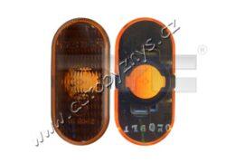 Blikač boční oranžový bez objímky L/P Nissan, Opel, Renault TYC