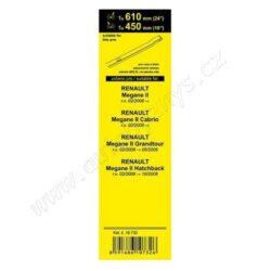 Stěrače FLAT SET (BOLT) 610+450mm COMPASS 10732(15534)