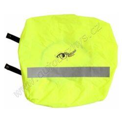 Potah batohu-brašny reflexní žlutý S.O.R.-Na velkou vzdálenost dobře viditelný potah na batoh či školní brašnu, vhodné až do velikosti 55 x 40 cm. Univerzální upevnění pomocí všité gumy a gumových popruhů. Odpovídá normě ČSN EN 471.  Zejména za snížené viditelnosti či v šeru potah na batoh několikanásobně prodlužuje vzdálenost, na kterou řidič zpozoruje chodce. Ideální na túry či na cyklistické výlety.