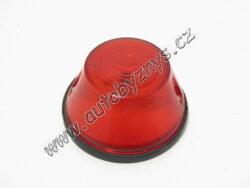 Lampa WE-92 červená