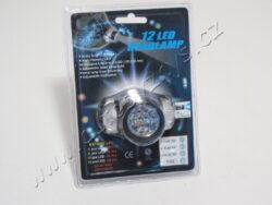 Čelovka 12LED - pracovní LED svítilna
