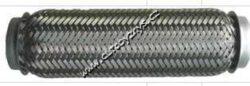 FISCHER Vlnovec 40x200 s vnitřním opletem-Vlnovec výfuku 40x200 s vnějším a vnitřním opletem. Pružný člen kompenzátor výfuku.